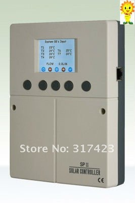 SPII, Solar Water Heater Controller for split pressurized system,Connect with computer to check web-based data, hot selling(China (Mainland))