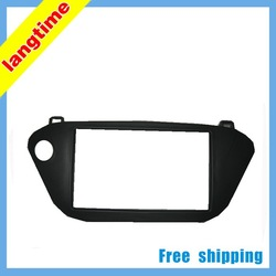 Free shipping-car refitting dvd frame/front bezel/audio panel for Toyota Vista Ardeo,2 DIN(China (Mainland))