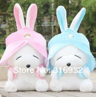 J1 Wholesale Super cute 40cm Rabbit plush toy, Mashimaro doll