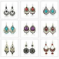 Whole Sale Mix lot Vintage Earrings 24PRS/Lot 8-10Different Models