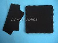 Black eyeglasses sunglass glasses eyewear microfiber cleaning cloth 15x14cm