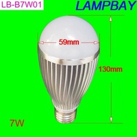 7W bulb equal to 75W E27 B22 E14 led bulb High quality High lumens lamp CE RoHS 2 years warranty