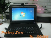 leather case keyboard for tablet pc t30