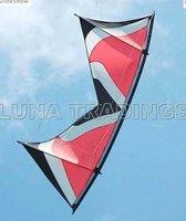 2.4M Quad Line Kite 40D Nylon Sail+ Imported Carbon Rod. Top Grade kite, Standard Edition LK021