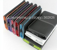 Credite card series Wallet Leather Case For iPhone 4S 4G