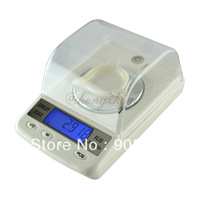 50g x 0.001g High Precision Digital Electronic Jewelry Diamond Gem Carat Scale with Counting Function, Portable Weighing Balance