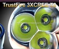 Trustfire High Power 3800Lumens 3*T6 sets LED TORCH LED Flashlight