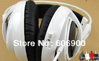 Freeshipping SteelSeries Siberia V2 Headphones Headset For PC Gamers Gaming Headphone with Mic headphone,Super Bass PC Headphone