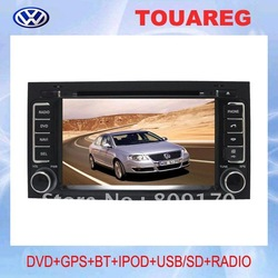 Best deal Volkswagen Touareg Car DVD GPS with 7&quot; HD digital screen, Bluetooth, iPOD, TV, Radio, USB/SD(China (Mainland))