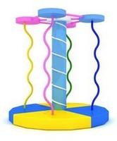 electric  indoor playground equipment - climbing tree , hlc011