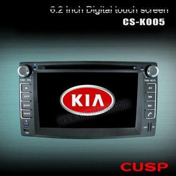 CS-K005 Car Radios with touch screen,analog TV,bluetooth,3g,wifi, CAR DVD PLAYER, GPS FOR KIA CARENS 2006-2012