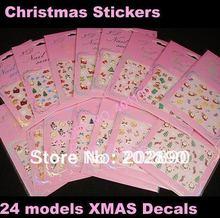 wholesale christmas nail sticker