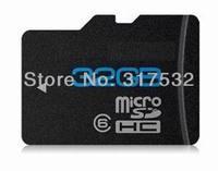 Original brand new real capacity cartao de memoria micro sd 16gb 32gb with C10 speed write 16M/s free sd adapter