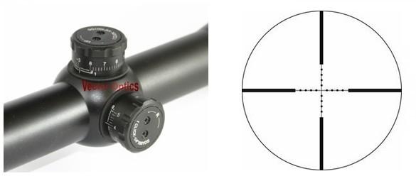 Vector Optics Martel 4 16x50 AOE Shooting RifleScope Mil dot Reticle 1 Inch Monotube Free Shipping
