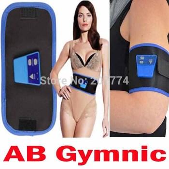 Free Shipping AB Gymnic Electronic Muscle Arm leg Waist Massage Belt, Dropshipping