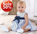 HOT SALE!! FREE SHIPPING!! Girls Classic design dress cotton baby dresses summer baby clothes