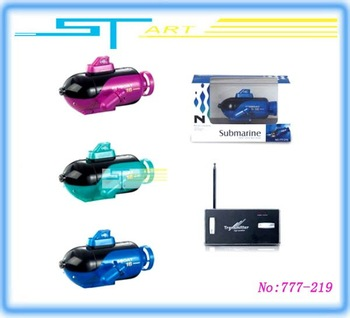 "24PCS 777-219 Rc Submarine ExPlorer  4"" Mini Micro radio remote Control Yacht  MIX Color  Wholesale"