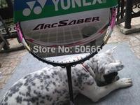 10 pecs/lot 100% carbon 2014 YY ARC 9FL ARCSABER 9 FL Badminton Racket with T jiont built