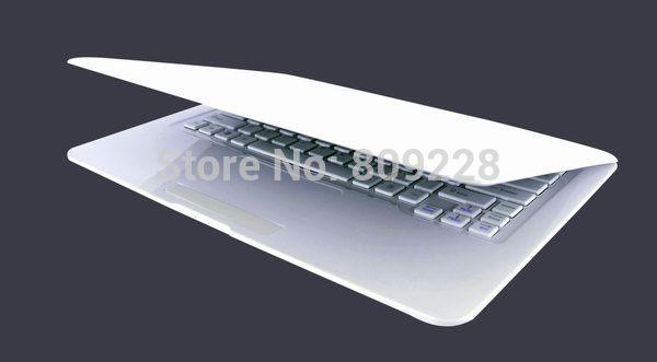 2014 ultra sottile 13,3 pollici mini computer portatile notebook 4g DDR3 500GB computer windows 7 intel d2500 netbook