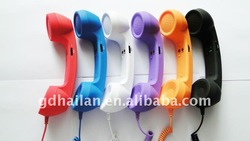 Retro Corded Mobile Phone Handset for mobile phone(China (Mainland))