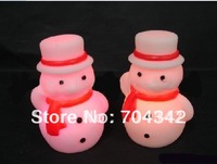 Christmas snowman Christmas gifts festival lights Nightlight light snowmen