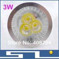 3W LED Spotlight,GU10/MR16/E27 base,3*1W Warm white, cool white ceiling light with 300LM ,40pcs/lot,free shipping