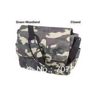Bass Pro Camo Multi-function Fishing Leisure Bag Pack with a Pad 44x36cm