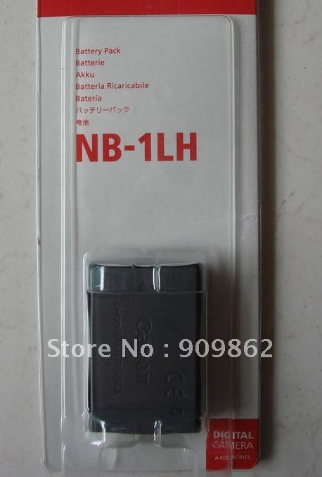 NB-1LH for Canon Digital Camera Camcorder rechargeable Li-ion Battery for LXUS, LXUSV, Power Shot(China (Mainland))
