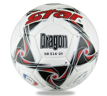 Free shipping - Star Dragon Size 5 official Soccer Ball & Football - made of PU leather, 425g-445g #036