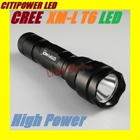 CREE XML T6 High Power LED Light Torch X5-T6 1000 Lumen 5 Switch Mode Flashlight