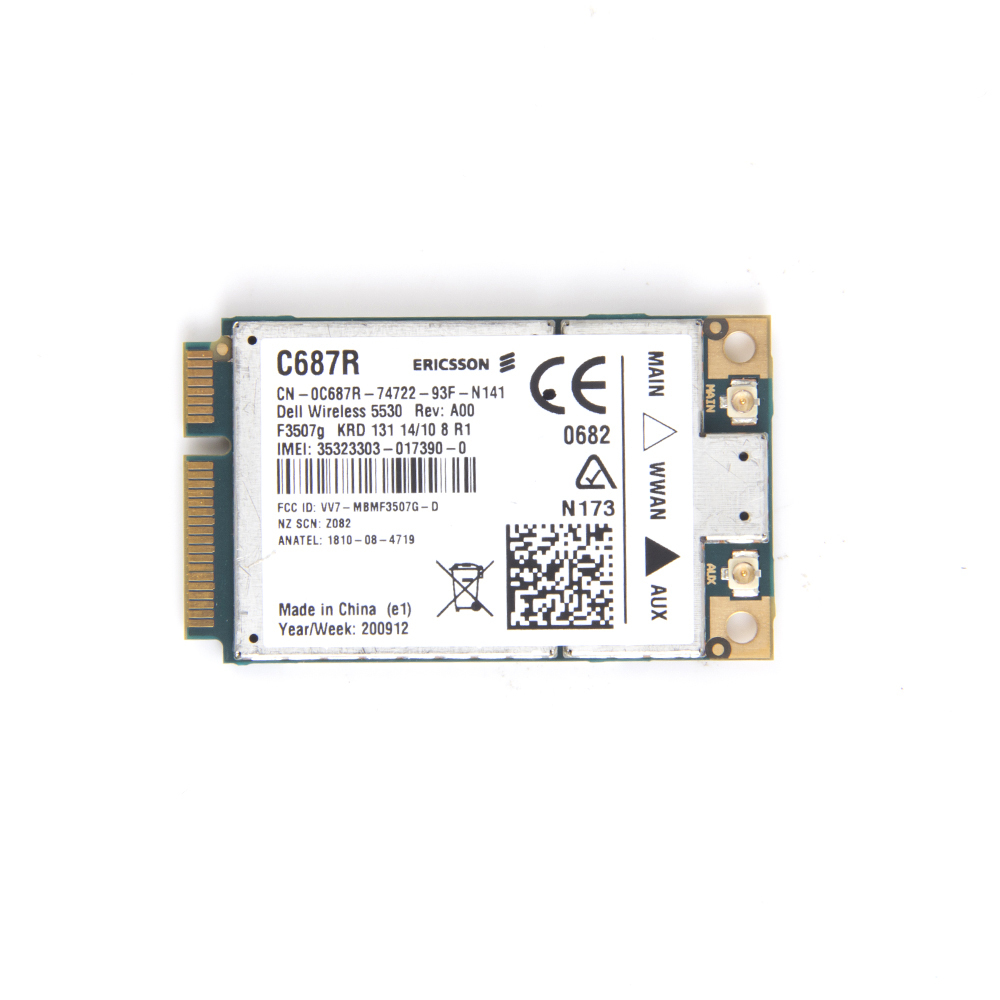 For Dell Mini Wireless Card 5530 3G/HSDPA WCDMA GPS Wireless card Mobile Broadband Card F3507G (10137)(China (Mainland))