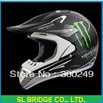 Free Shipping Motocross off-road dirt bike classic racing ghost helmet flame full face helmet High quality I11622SL(China (Mainland))