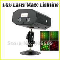 Mini Laser Stage lighting Red & Green Light Laser Projector different Pattern for Party Bar Stage DJ Disco Club + Remote Control