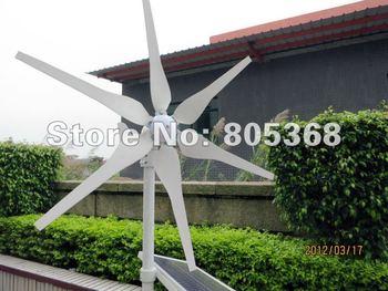 300W wind solar hybrid monitoring 300W 24V wind turbine+600w 24v wind solar hybrid controller preferential For house