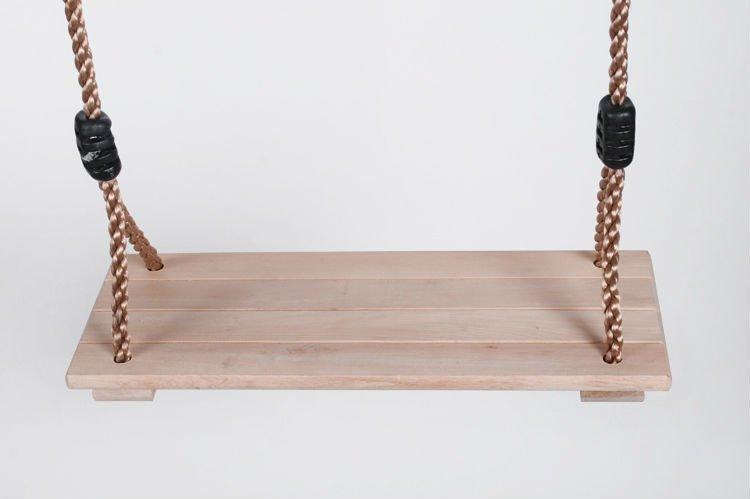 wooden swing