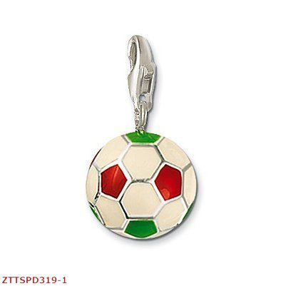 2012 new arrival Free Shipping wholesale green Soccer ball pendants,925 silver charm pendants,925 sterling silver jewelry(China (Mainland))