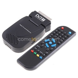 High-quality With Cheap Price DVB-T SCART Mini TV Box Freeview Receiver Tuner Recorder(China (Mainland))