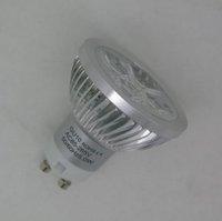 2012 New Ultra Bright 4W GU10 Base LED Spotlight LED Light Blub Lamp (20 Watt Halogen Bulbs Replacement)- YK-S-41A-GU10-X