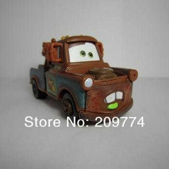 """PIXAR Cars 2 Toys """"Mater"""" Tow Truck eat mustard"""