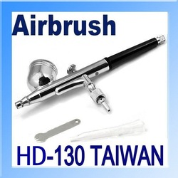 0.3mm Air Brush Spray Dual Action Airbrush Gun Kit for Nail Paint Art Drawing Tattoo Tanning,Taiwan made 1 year guarantee(China (Mainland))