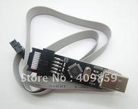Free shipping!!!USBASP Downloader ISP AVR Programmer Adapter 3.3V or 5V High Quality-10000067