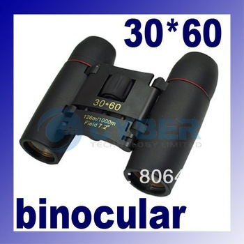 Binocular 30 x 60 spotting scope Zoom Folding Telescope with coated optics Retail & Wholesale 1808