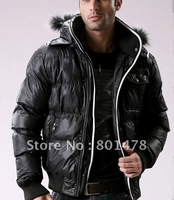 GUEQI new men's winter thick warm fashion nylon cotton jacket NS-NU