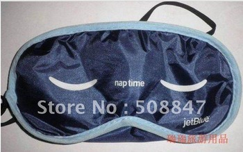 2012Hottest gift!Free shipping!Brand New good quality stock Eye Mask Sleeping shade Sleep Aid Travel Rest wholesale/dropship