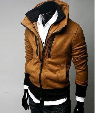 Men Fashion Jacket Casual Wholesale Men s hoodies