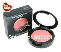 12 PCs/lot Wholesale Cheap Brand MC Makeup Sheertone shimmer Powder Blush 6G 24 different colors available free shipping
