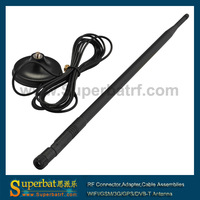 2.4GHz 12dBi Omni WiFi antenna RP-SMA for IEEE 802.11b/g wireles