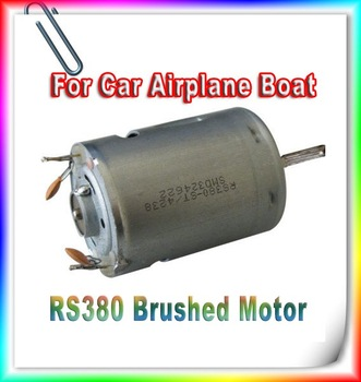 Free shipping by China post 1pcs RS380 380 Brushed Motor for DIY RC Model Electric Car Airplane Boat
