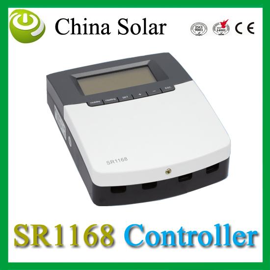 2014 nuove funzioni connessione internet sistema di riscaldamento solare controller sr1168 per pressurizzato spaccatura sistema solare di acqua calda