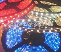 25 m/ lot Hot LED hightlight SMD 5050 flex led strip 5 meters 300 LEDS DC 12V waterproof Soft light Reasonable freight